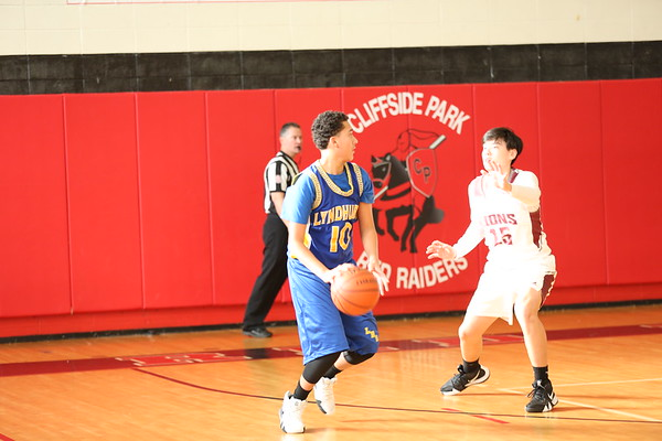Lyndhurst Freshman vs Cliffside Park 12-27-18