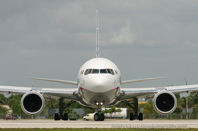 N314LA. Boeing 767-316F/ER. Mas Air. Miami. 030304.