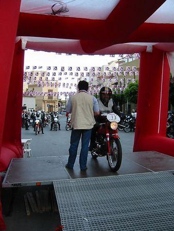 Motogiro Sicilia 2004: Leg 5