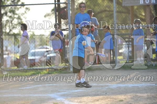 LL T-Ball Blue vs Yellow 06-28-09