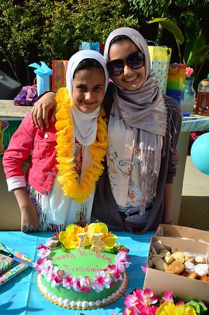 Yasamine's Birthday, Jun. 2012
