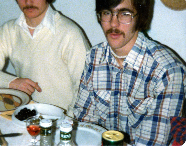 Brian and Mark.  Must be a Christmas dinner