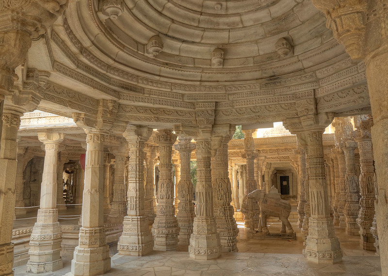 I could've wandered through here forever!  It was magnificent! - Ranakpur Jain Temple