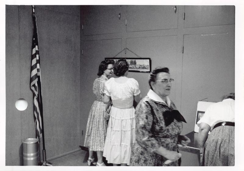Grandma Gromer, Frankie on left