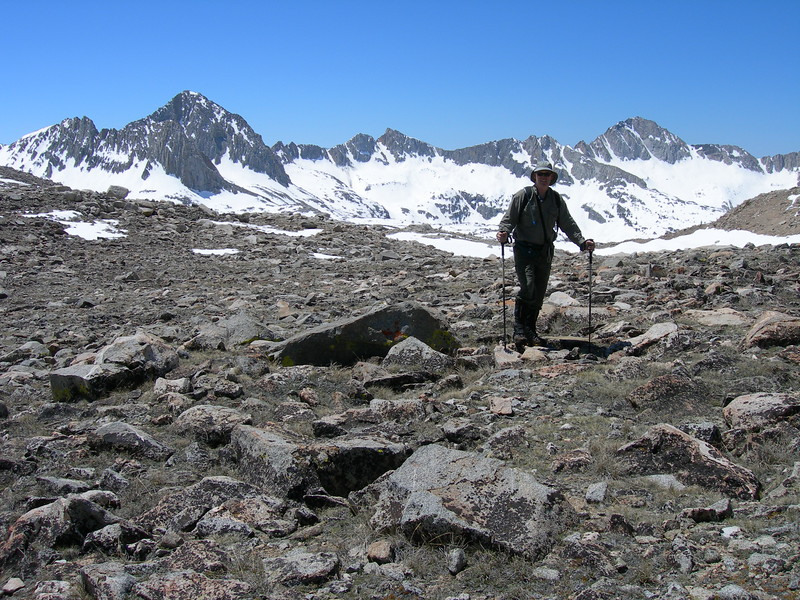 (2005  June 11-13). Hiking to Bishop Pass.  Inyo National Forest, California.