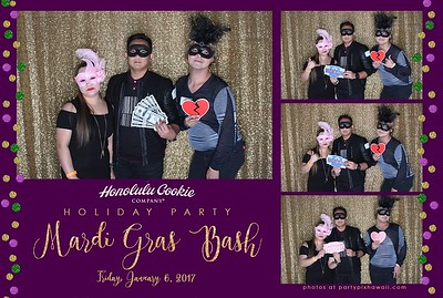 Honolulu Cookie Company 2017 (LED Open Air Photo Booth)