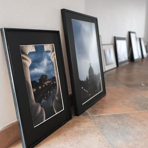 """Exposition photo  """"Voyage Rome Paris""""  à l'Espace Gandhi"""