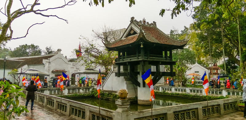 Hanoi  de eenzuilige Pagode