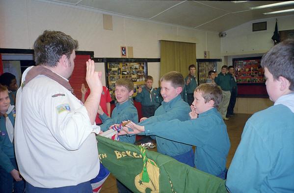 Scout Enrollments 2006