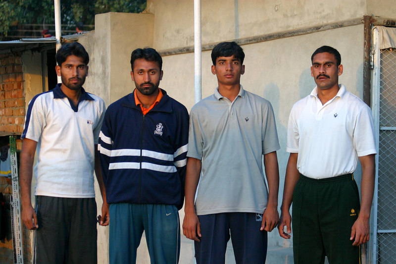 Navy rowers not on the Pakistan squad.