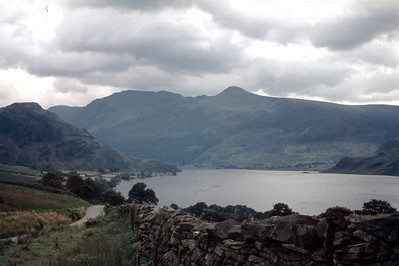 Camping in Lake District 1965