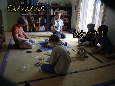 11.Geburtstag Clemens