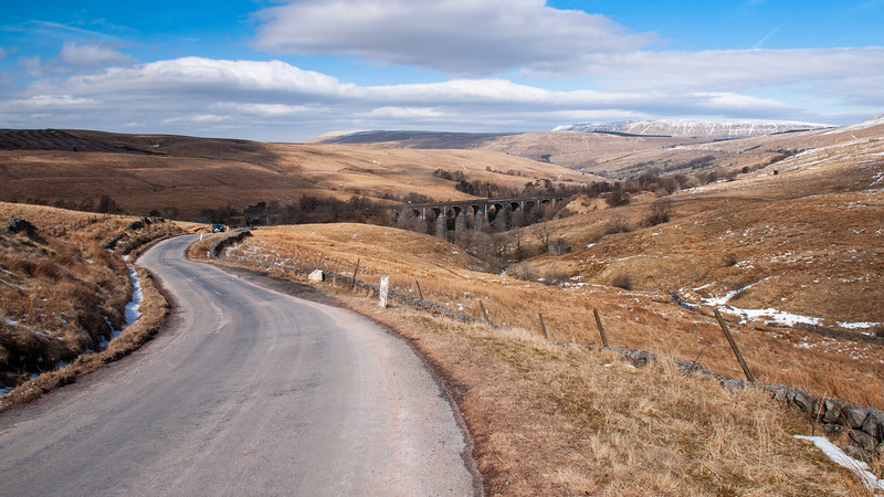 Dent Head viaduct in the Yorkshire Dales