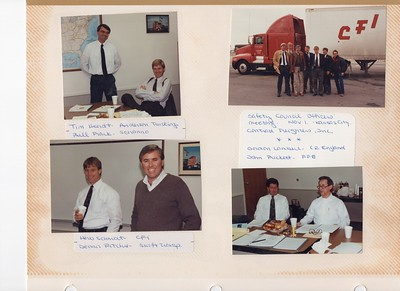 11-1 to 3-1991 ITC Safety Officers & Claire Schenk