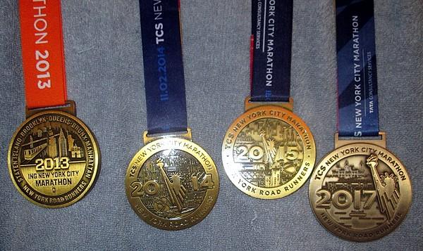 My 4th nyc marathon 26.2 miles