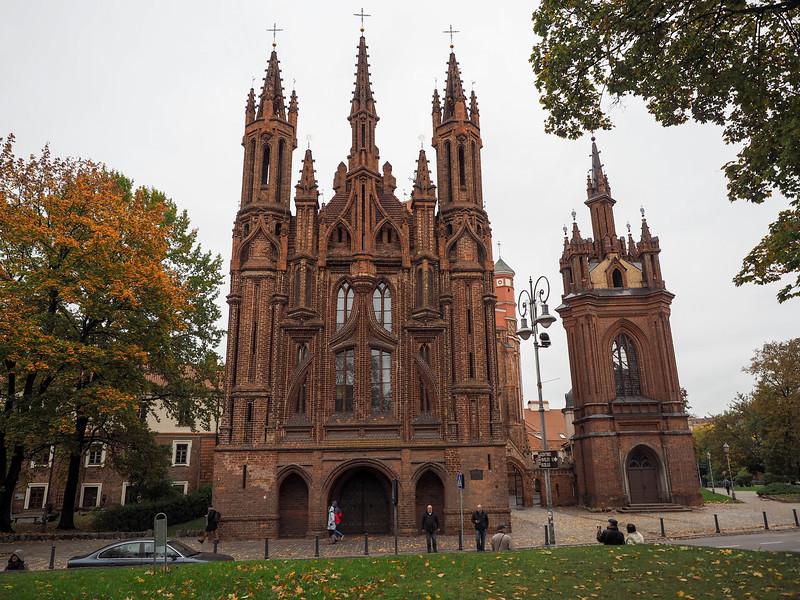 St. Anne's Church in Vilnius, Lithuania