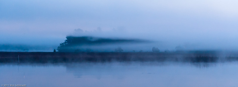 Marsh Dawn and Fog Lift