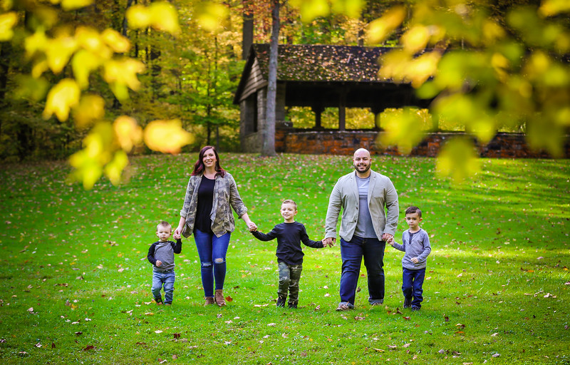 Montemarano Fall Family Portrait Session 2020