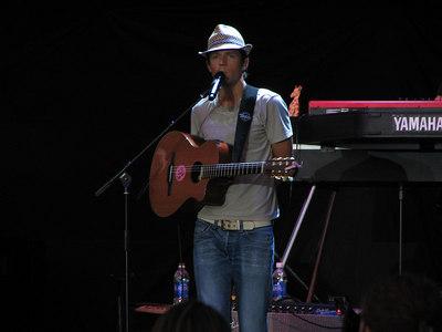 Rob Thomas with Jason Mraz - 7 Jul 06 - Ironstone Amphitheatre - Murpheys, CA