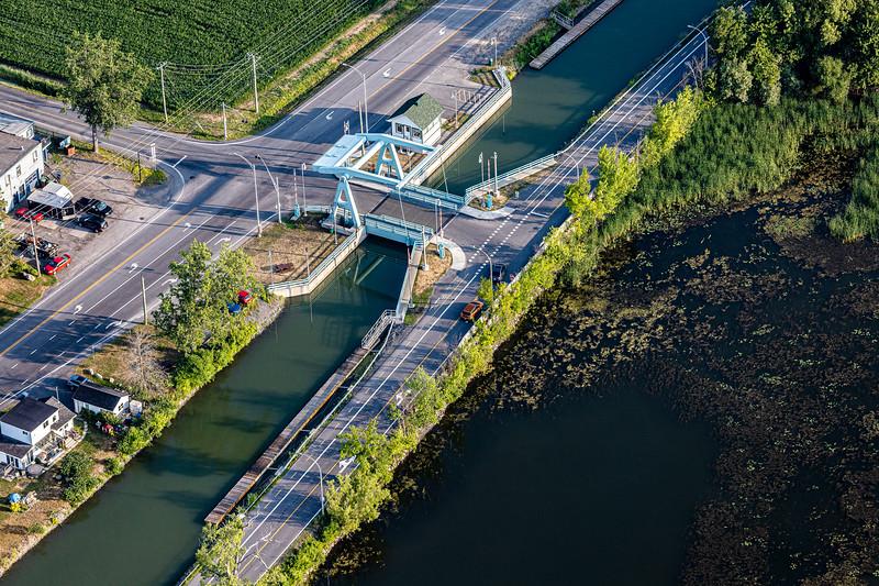 Pont-Levis sur le canal Chambly