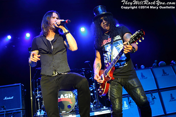 Slash Ftr. Myles Kennedy & The Conspirators <br> July 9, 2014 <br> Casino Ballroom - Hampton Beach, NH <br> Photos by: Mary Ouellette