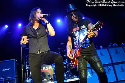 Slash Ftr. Myles Kennedy & The Conspirators <br> July 9, 2014 <br> Casino Ballroom - Hampton Beach, NH <br> Photos by: Mary Ouellette