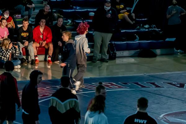 AHS Wrestling NECC Finals