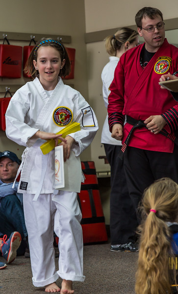 Karate Promotion day