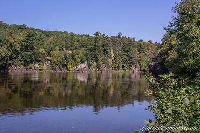 Les Gorges de Saint Croix River et le Lake o' the Dalles