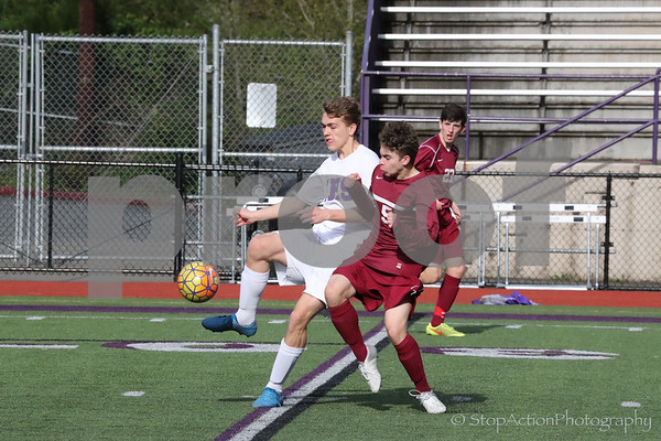 2017-04-28 Issaquah Boys JV Soccer vs Eastlake