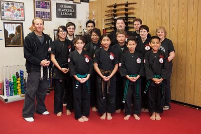 12-07 Brown & Black Belt Test