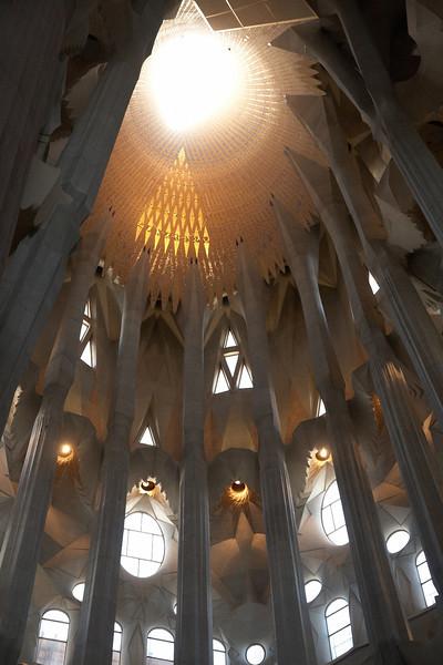 Gaudi's Sagrada Familia (Barcelona) - May 2011