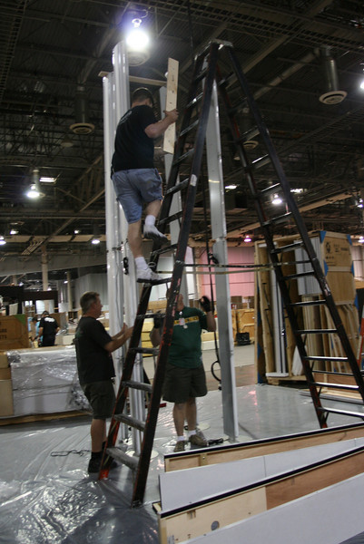 Mason, 20' Tower Set-up Pictures