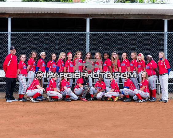 Bondurant Middle School Softball