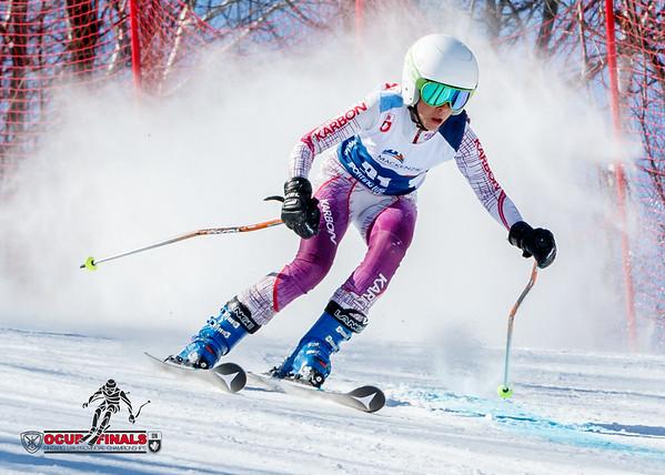 2017-03-17 Ladies Giant Slalom Run 2