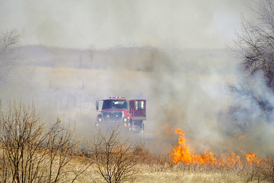 Grass Fire at Smith Lake Feb. 22, 2020