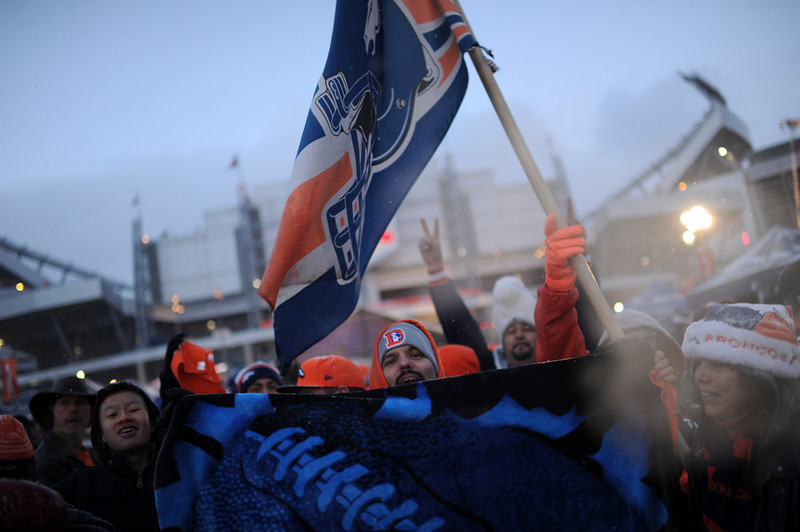 . Paul Jenkins is in the United in Orange Pep Rally at Sports Authority Field at Mile High in Denver on Friday. Denver. CO, January 11, 2013.  Hyoung Chang, The Denver Post