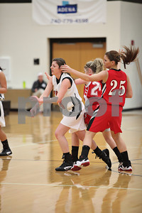 WHS Girls vs Minford 1-12-12