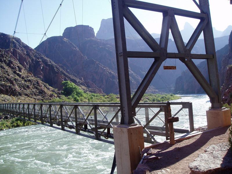Colorado River water was still pretty cold.