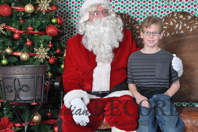 Kendall 2012 Santa Photos