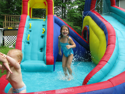 Aug. 1-15 - Rory & Jake's Party/Hailey Soccer Camp/Mets Game/Long Island Yellin Grandparents Visit