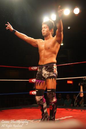 DGUSA 6/3/11 - Ricochet vs Susumu Yokosuka