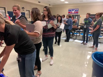 Bond18 Teacher Chromebook Delivery