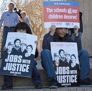"""""""Educators For Justice"""" Rally - Denver 2/20/17"""