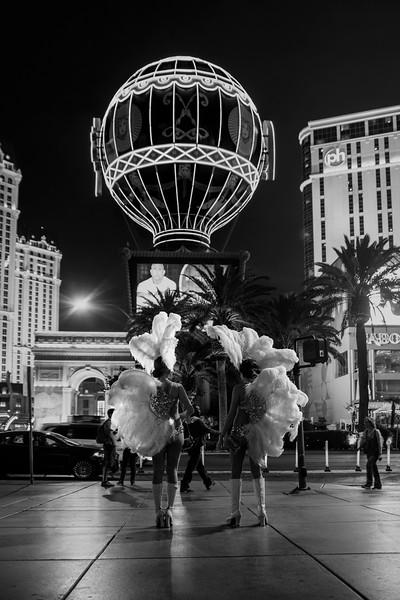 Las Vegas Black and White