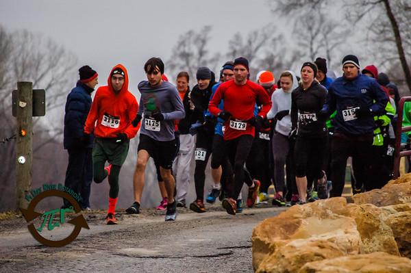 Half Marathon - On Course