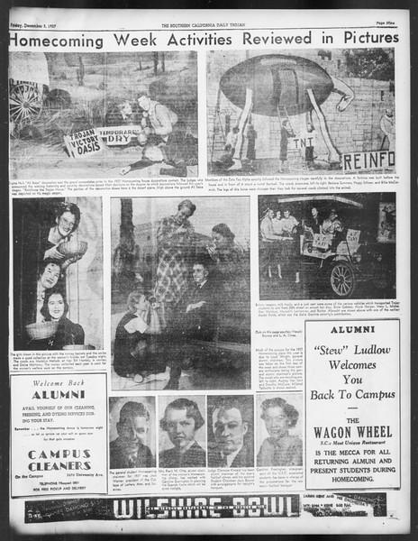 Daily Trojan, Vol. 29, No. 52, December 03, 1937