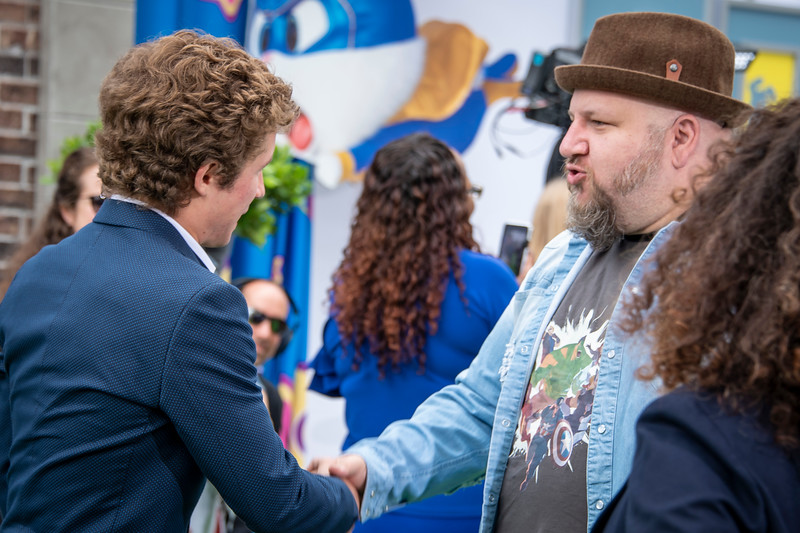 WESTWOOD, CALIFORNIA - JUNE 02: Sean Giambrone and Stephen Kramer Glickman attend the Premiere of Universal Pictures' 'The Secret Life Of Pets 2' at Regency Village Theatre on Sunday, June 02, 2019 in Westwood, California. (Photo by Tom Sorensen/Moovieboy Pictures)