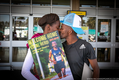 Melikhaya Frans - London Marathon 2020