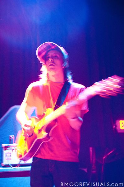 Ted Feldman of Bear Hands performs on May 2, 2010 at State Theatre in St. Petersburg, Florida
